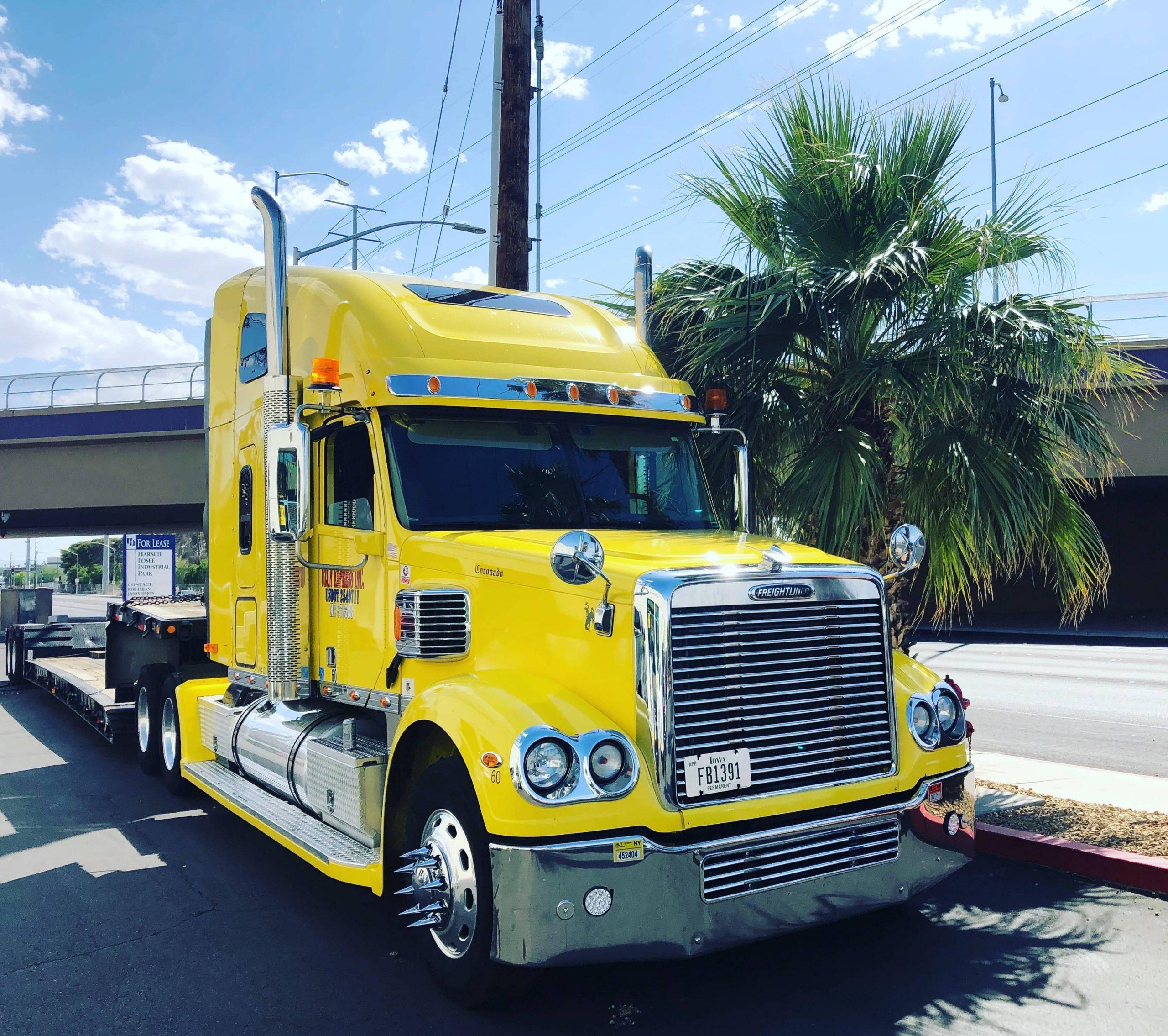 Waarom je je vrachtwagens moet laten spuiten